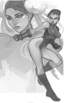 Cammy X Chun-Li Work In Progress UPDATE by DJOK3