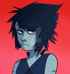 Lapis in Gorillaz style(???) by Merengeee