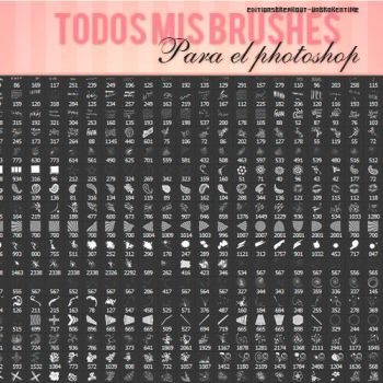 +TODOSMISBRUSHES! by EditionsBreakout