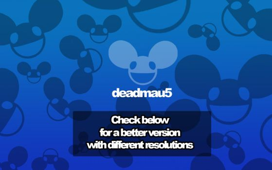 Deadmau5 Wallpaper by jollypop2008