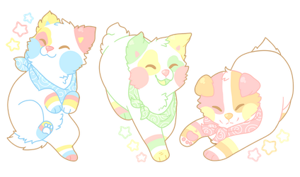 Marshmallow Babes by Manic-Bunny