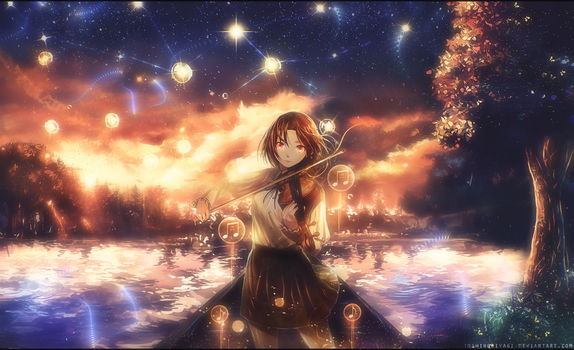 The violist of the lake by HappyrlinhosGFX