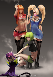 Power Puffs - V2 by SourAcid