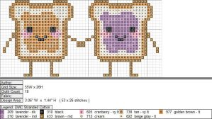 PBJ XStitch Pattern by niakane