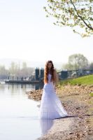 By the riverside by Sinned-angel-stock