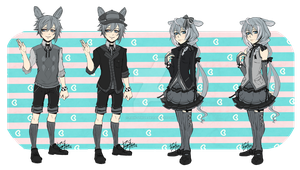 Bunny gijinka Adopt:OPEN[Price reduced AGAIN!] by Rain-Strive