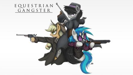 Equestrian Gangster by NCMares