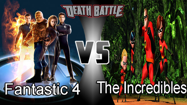 Johnny's DB~Fantastic 4 VS The Incredibles by JohnnyOTGS