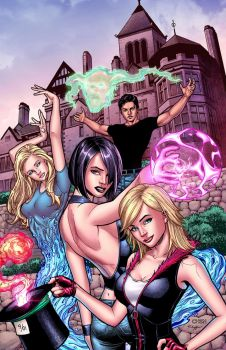 Grimm Fairy Tales 108A by StephenSchaffer