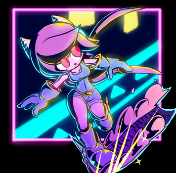 Shading Artstyle Test - Sash Lilac by Pedrovin