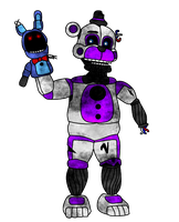 Ignited Funtime Freddy by russellsterlingdyer