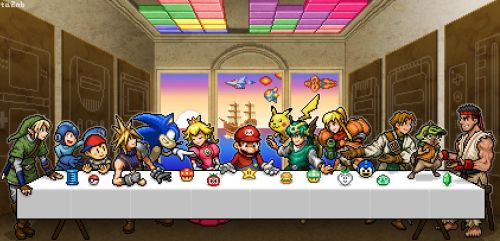 The last supper by ta2nb
