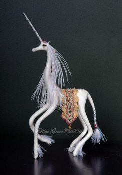 Unicorn Sculpture by LilacGrove