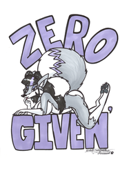 Zero Fox Given' by Sketchywolf-13