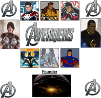 The DAvengers by WOLFBLADE111