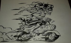 Inktober 2016 No. 11 Transport by MikeES