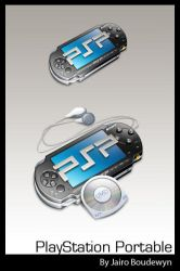 PlayStation Portable Icons by weboso