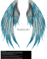 Winged Fantasy V2 - Phoenix Blue by Thy-Darkest-Hour