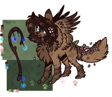Forest cat auction (closed) by D-Dyee