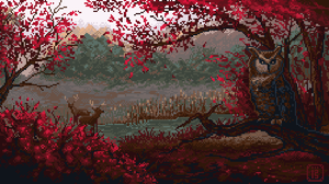 Sourwood glade by MalthusWolf