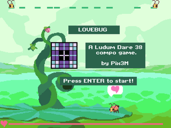 [Ludum Dare 38] [Windows game] Lovebug by Pix3M