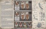 Commission: Earth Sheeple Reference Sheet by MarikBentusi