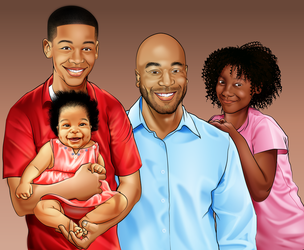 Father's Day Portrait by sircle