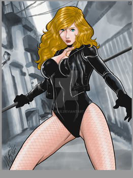 Black Canary by martheus