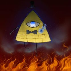 Bill cipher by meowmeowsmasher