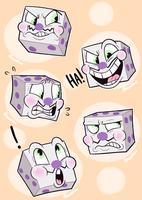 King Dice by itsaaudraw