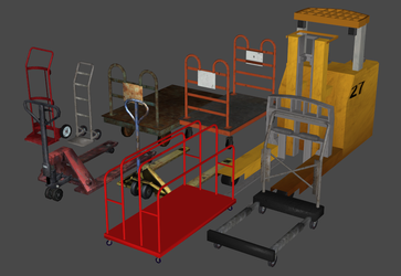 Freight Hauling Prop Pack (OBJ) by DigitalExplorations