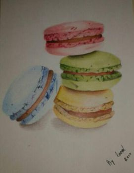 Macaroon delight by caytindo