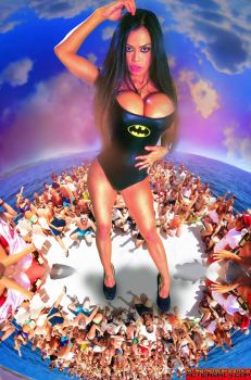 Giantess Goddess Armie Foot Supreme Being by ScottyJX