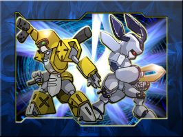 -.:Medabot Action:.- by Smoking-Squirrel
