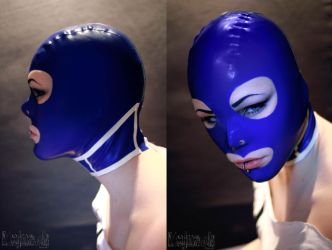 The blue mask by iDementhia