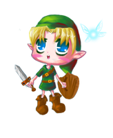 Link Chibi by Meaghz