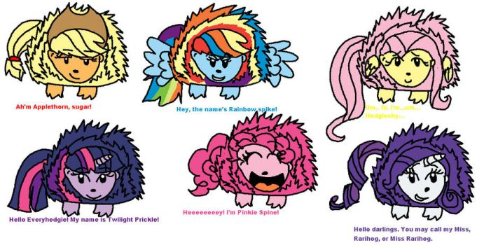 My little Hedgehog: Prickles are magic cast by mihane100
