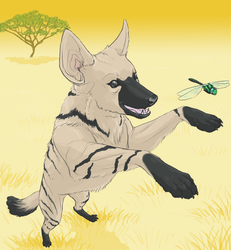 A is for Aardwolf by Werebeast