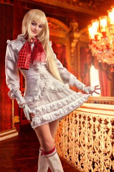 Tekken: Lili's curtsey by michellemonique
