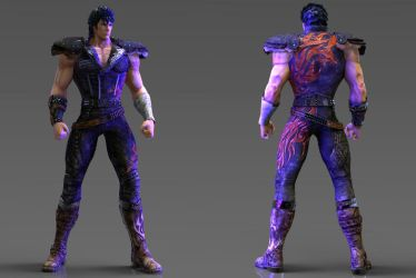 KENSHIRO [Render Test 2] by angelmora9021