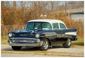 A Black 1957 Chevy by TheMan268