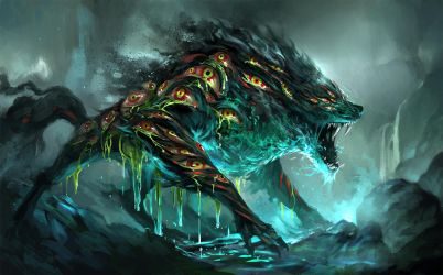 weeping wolf by sandara
