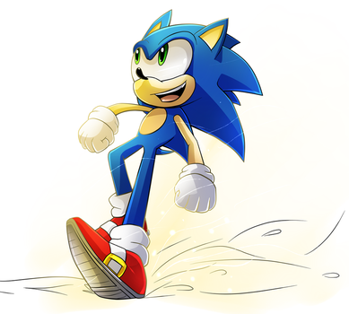 Dat boi Sonic by Tri-shield