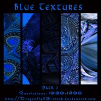 Blue Textures Pack 2 by BFstock