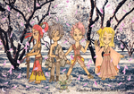 Fairy Tail in Japanese Style by Camilia-Chan