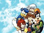 Let's smile, Sora by Nene-chan-wallpapers