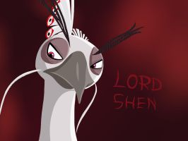 Lord Shen by JustSomePainter11