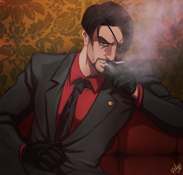 Mad dog in a suit by Felixfellow