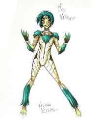 Young Mad Harriet of the Female Furies sketch by LucianoVecchio