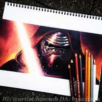 Kylo Ren (study) by hyaciinth